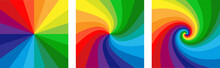 Background With Rainbow Colore...