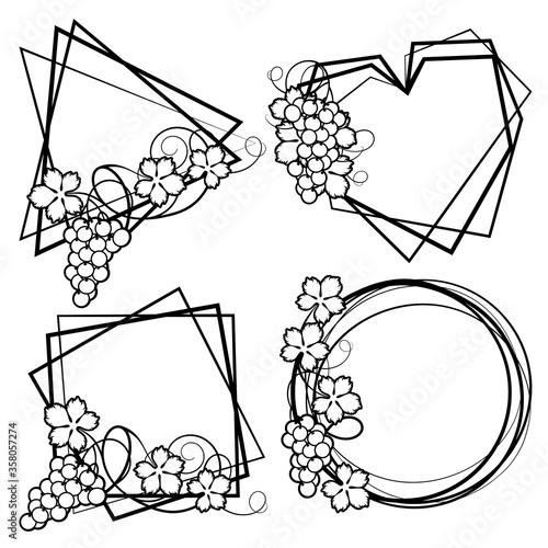 Frame with vine #358057274