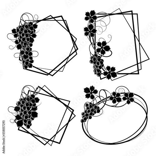 Frame with vine #358057293