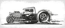 Vector Hot Rod