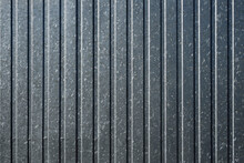 Grey Metal Sheet Wall Background