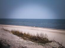 Baltic Sea Coast At Sunny Day.