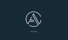 Alphabet Letter Icon Logo  CA ...