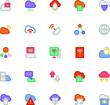 Cloud Computing Vector Icons 2