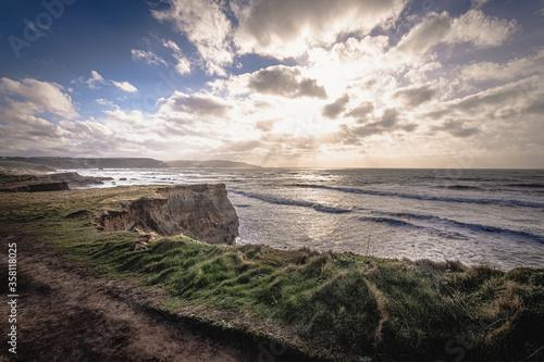 Widemouth Bay, Cornwall, England Canvas Print
