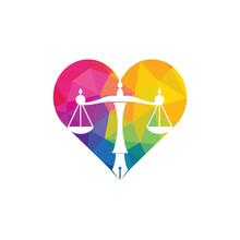 Law Logo Vector With Judicial ...