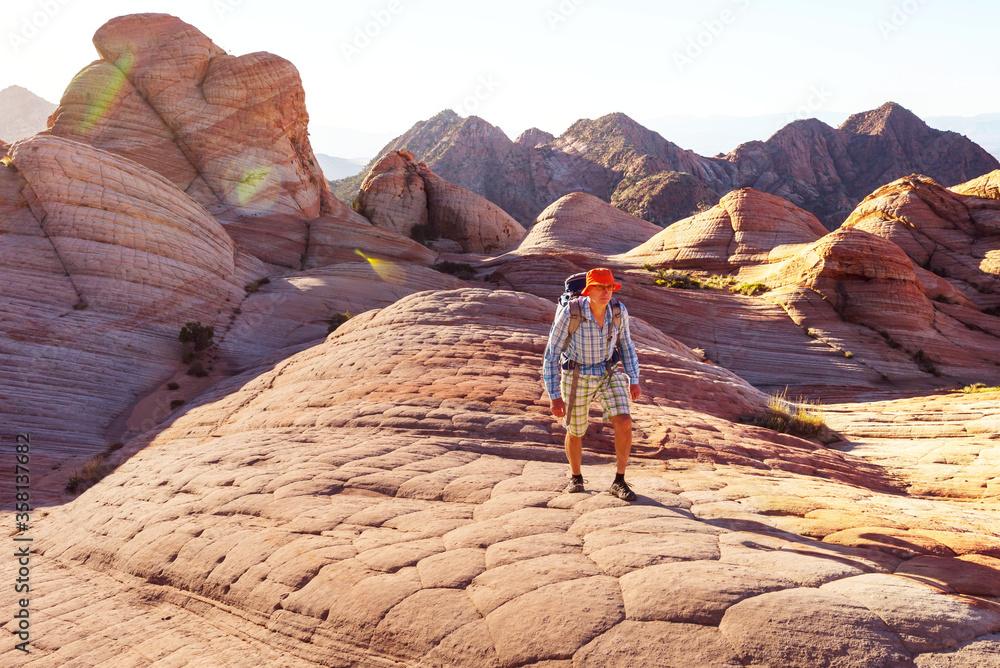 Fototapeta Hike in Utah