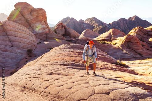 Fototapeta Hike in Utah obraz