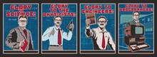 Glory To Science Propaganda Po...