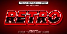 Text Effect Retro