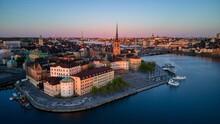 Gamla Stan In Stockholm, Swede...