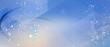Leinwandbild Motiv netzwerk linien punkte verlauf partikel banner
