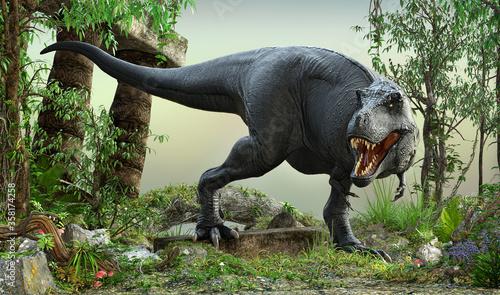 Fotografie, Obraz Beast of The Lost World - TRex