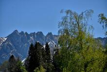 Alpstein Gebirgskette In Der Ostschweiz 7.5.2020