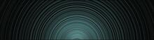 Abstract Blue Circle Backgroun...