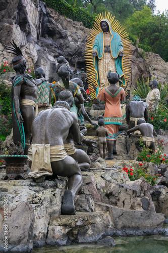 Photo La Villa, CDMX / Mexico - Dec 2009 in 1531 was the site of the apparition of Our