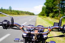Motorbike Chrome Handlebars Of...