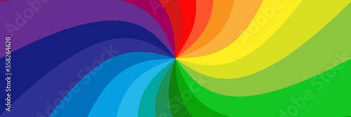 Ταπετσαρία τοιχογραφία Background with rainbow colored spirals