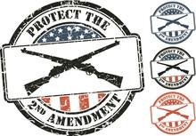 Patriotic Grunge Stamp; Crosse...