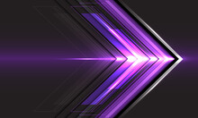Abstract Violet Arrow Light Di...