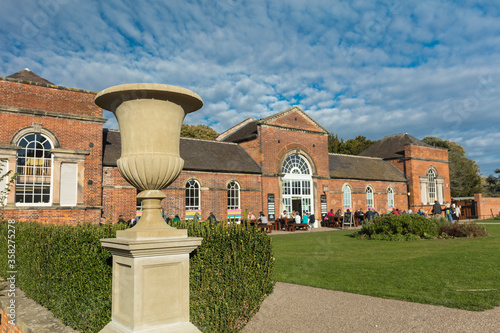 Derby, Derbyshire, UK: October 2018: Orangery in Markeaton Park Canvas Print