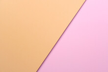 Pastel Orange And Pink Paper C...