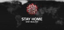 Stay Home - Quarantine Poster....