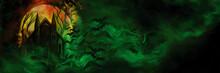 Vampire House Banner/ Illustra...