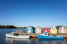 Lobster Barns And Boats Of Pri...