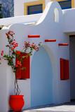 Dekorativer Eingang