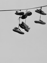 Tossing Shoes Over Power Lines
