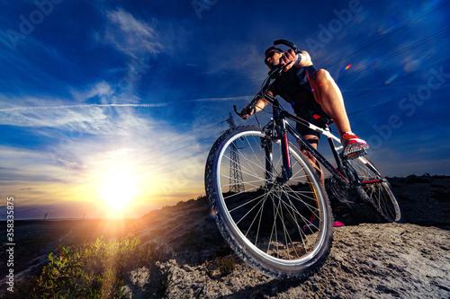 Bicicleta de montaña Canvas Print