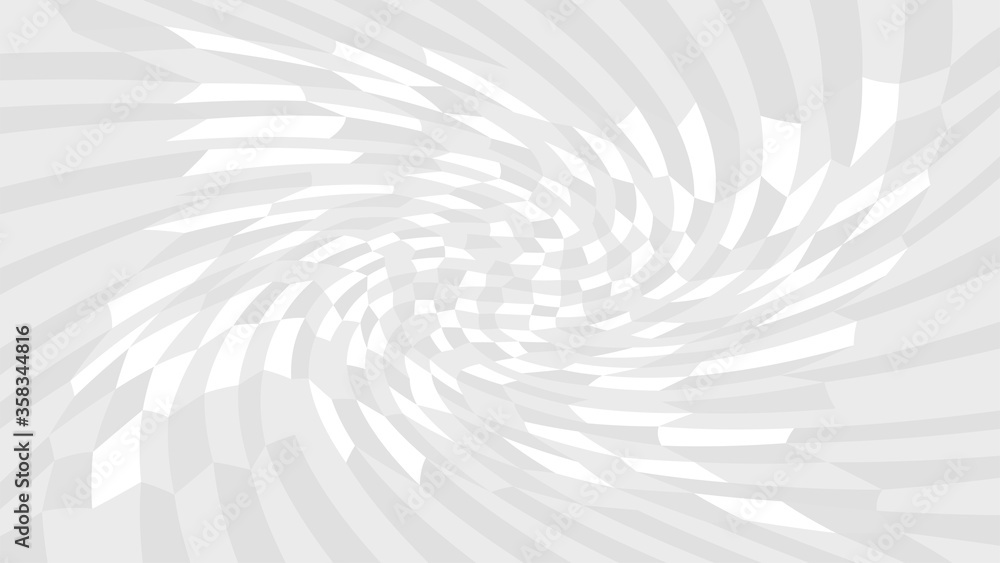 Fototapeta grey twirl wave pattern abstract for background, optical wave twirl gray color, hypnotic concept, dynamic motion curve of lines flowing white grey, lines wave shaped array of blended points illusion