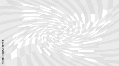 Obraz grey twirl wave pattern abstract for background, optical wave twirl gray color, hypnotic concept, dynamic motion curve of lines flowing white grey, lines wave shaped array of blended points illusion - fototapety do salonu