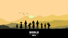 World Refugee Day. Concept Of ...