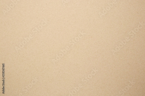 Brown paper eco recycled kraft sheet texture cardboard background Canvas