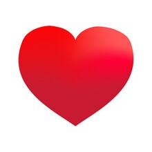 Pink Gradient Heart Illustrati...