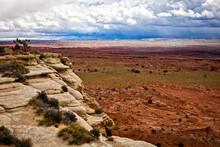 Piękny Widok Na Bezdroża Stanu Utah