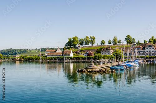 Photographie Rapperswil, Zürichsee, Schloss, Seeufer, Bühlerallee, Kapuzinerkloster, Hafen, B