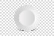 Vector 3d Realistic White Porc...