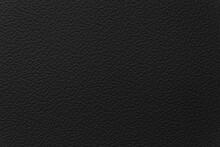 Close - Up Black Leather Textu...