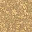 Leaf seamless repeat pattern background