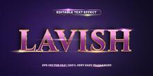 Text Effect In Gradient 3d Lav...