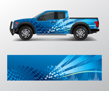 Truck And Car Graphic Backgrou...