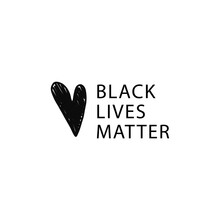 Black Lives Matter Vector Illu...