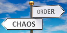 Chaos And Order As Different C...