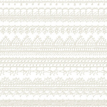 Vector White Seamless Pattern ...