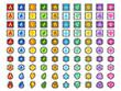 ゲーム/アイコン/属性/タイプ/メタル/B