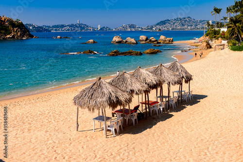 Coast of the Pacific Ocean, Acapulco, Mexico Fototapet