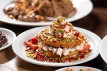 Oriental Arabic Sweet Warbat, ...